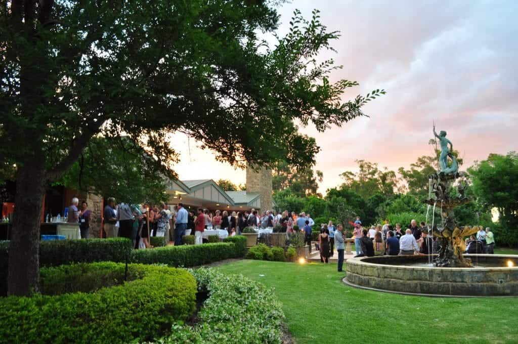 Image of the outdoor function area at the Mercure Resort Hunter Valley Gardens